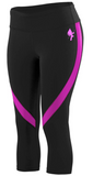 Electric Crop Leggings