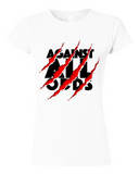 Against All Odds Fitted Women's T-Shirt