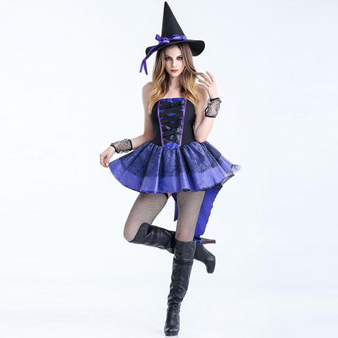 Halloween witch cosplay party coustume sets - Fancyever