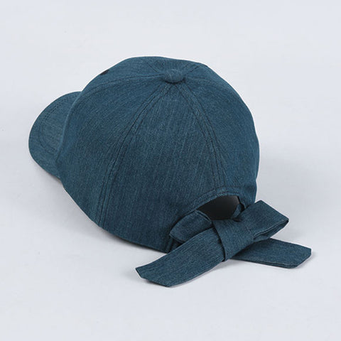Summer retro denim caps