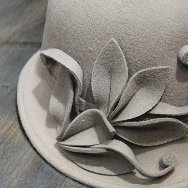 French flowers trilby hats