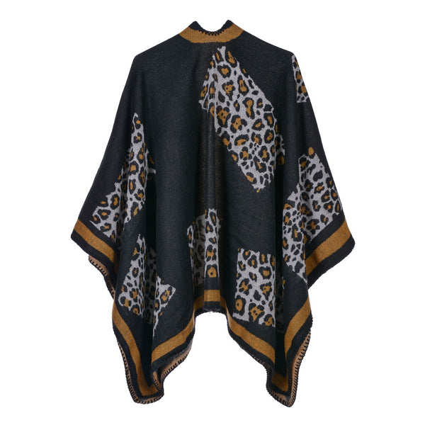 Leopard ultra-soft thick shawls scarves - Fancyever
