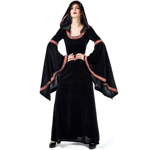 Halloween gothic witch costumes