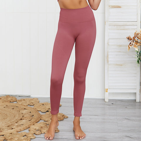 High waisted cropped fitness active tights