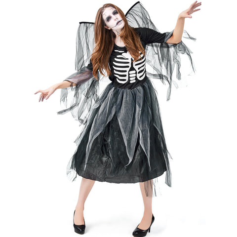 Halloween mesh dark angel costumes - Fancyever