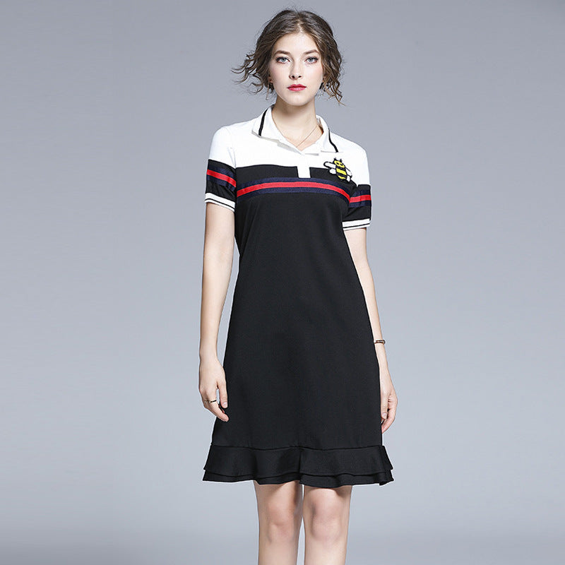 Ruffle bee polo dresses - Fancyever
