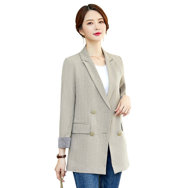 Basic slim women blazers