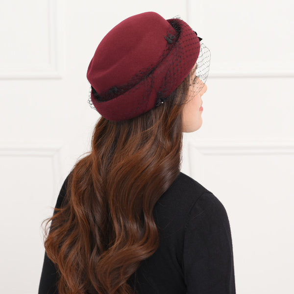 Mech beret fascinator hats
