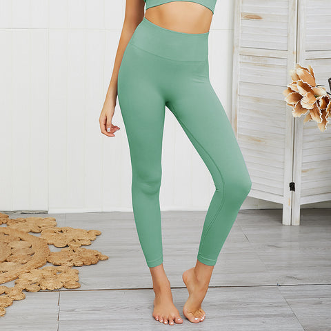 Seamless fitness active leggings