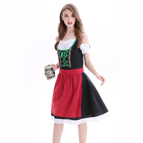 Halloween beer maid costumes
