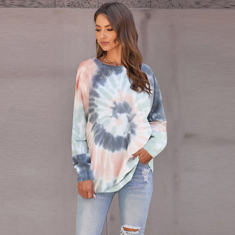Tie dye colorful sweatshirts