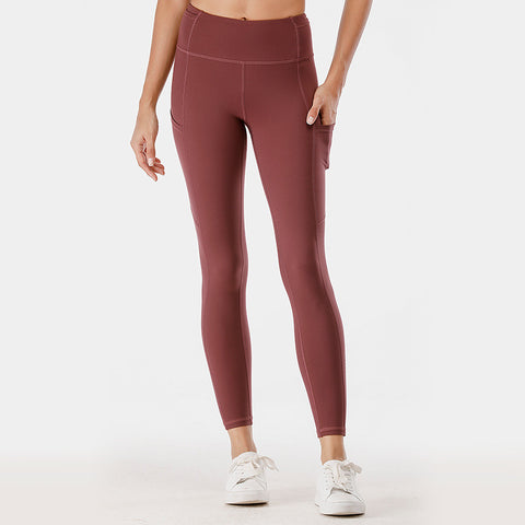 High waisted active tights with pockets