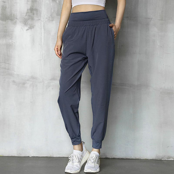 Quick dry running yoga sport joggers - Fancyever