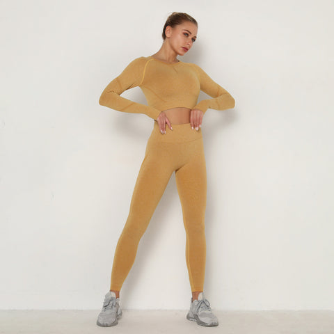 Long sleeve active suits