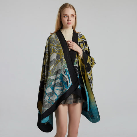 Non-engineering print scarves