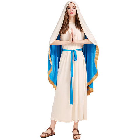 Halloween the virgin Mary costumes