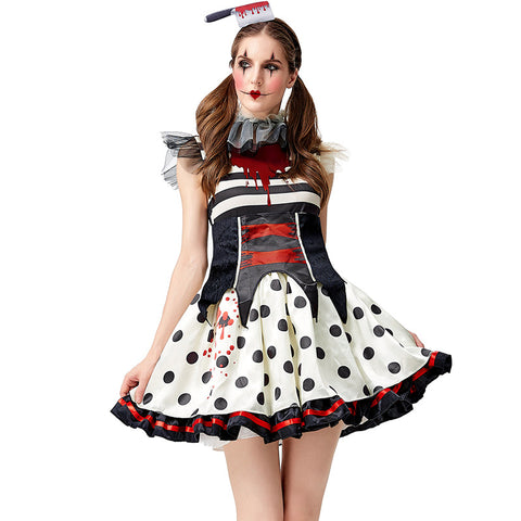 Halloween clown costumes