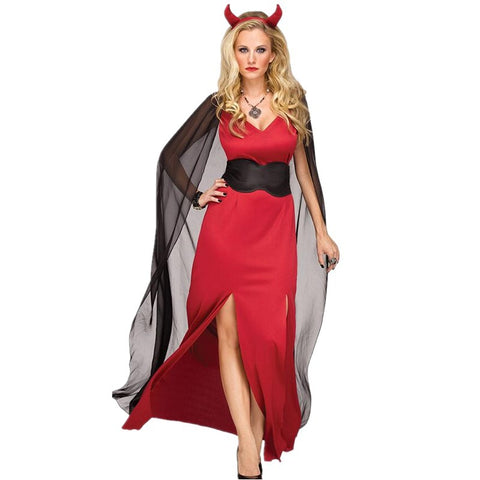 Halloween cape evil queen costumes