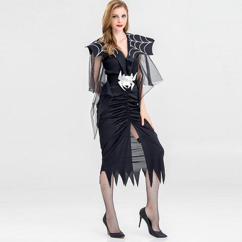 Halloween spider devil party costumes - Fancyever