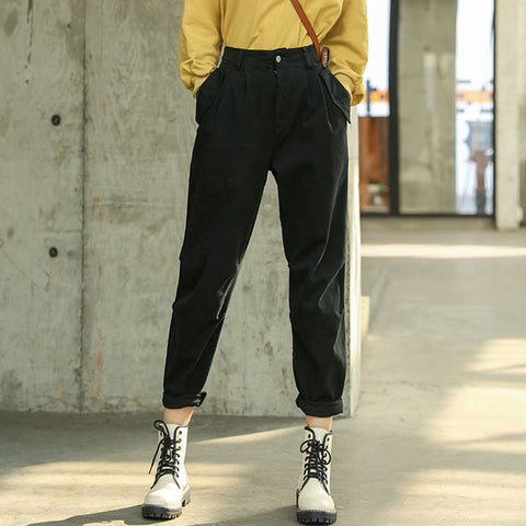 Stretchy chino cargo pants
