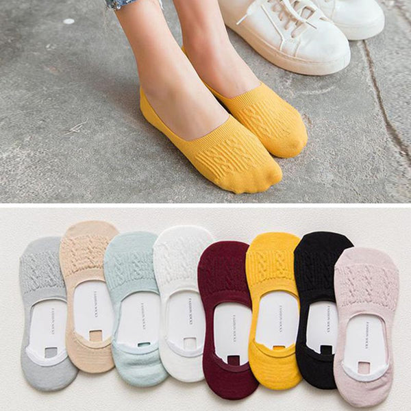 20 pairs cable knit liner socks