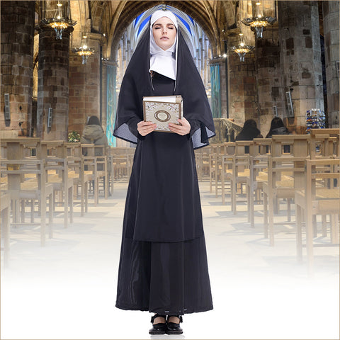 Halloween nun costume set - Fancyever