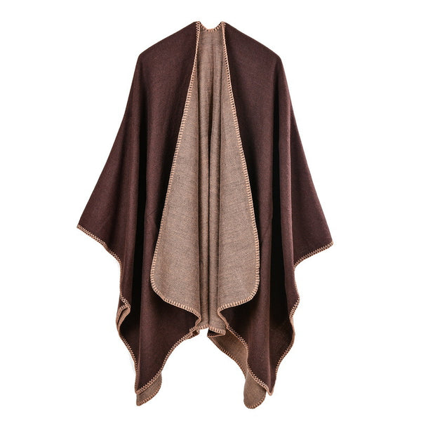 Solid color woolen shawls scarves