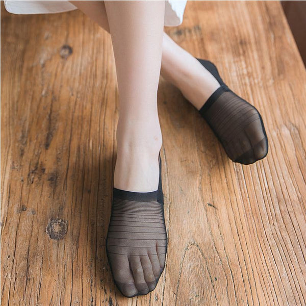 10 pairs invisible comfort liner socks