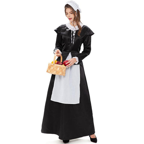 Halloween European retro maid costumes