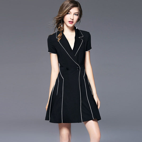 Work a-line suit dresses - Fancyever