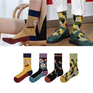 5 pairs hit color ankle socks