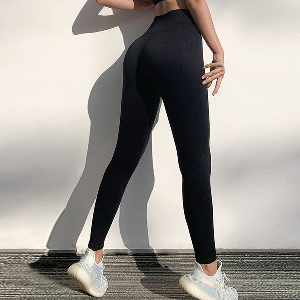 Fitness yoga high waisted compression leggings