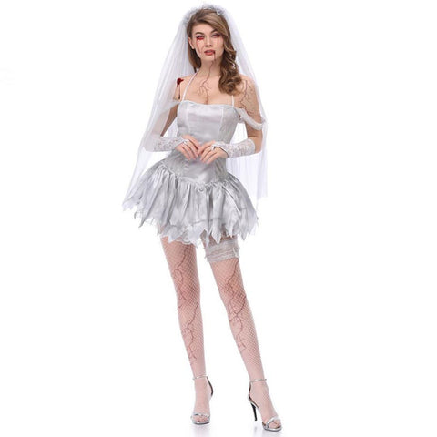 Halloween dead bride party coustume sets - Fancyever