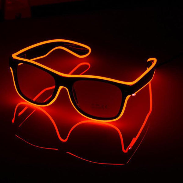 Halloween light up glasses