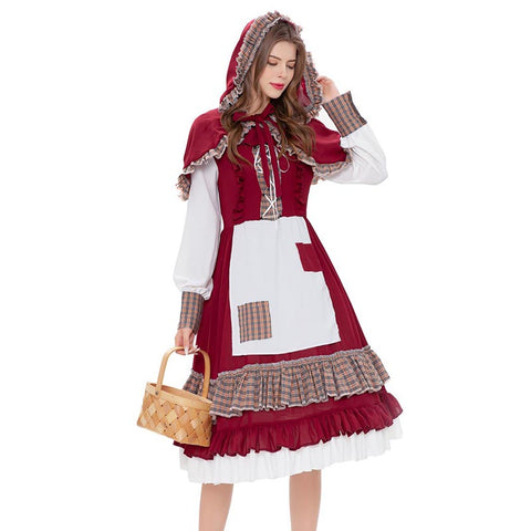 Halloween little red riding hood costumes