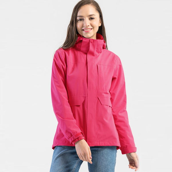 Ski waterproof fleece interchange jackets