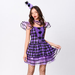 Halloween royal red queen costumes
