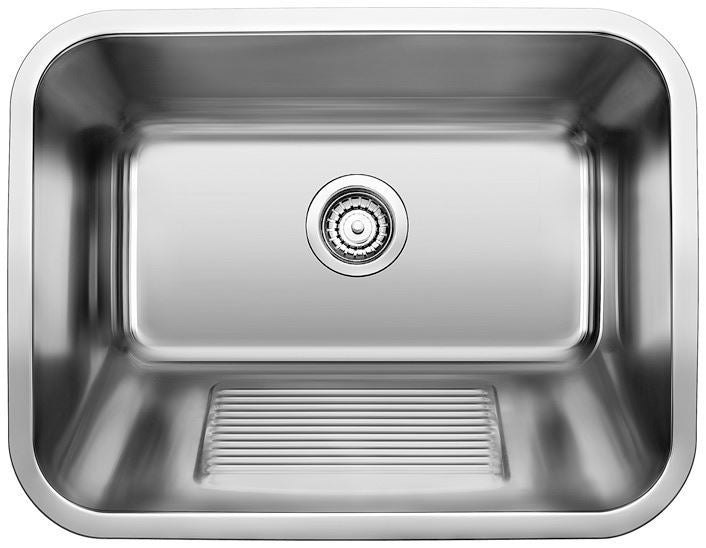 BLANCO Practika Stainless Steel Single Bowl 18 Gauge Utility Sink 400779