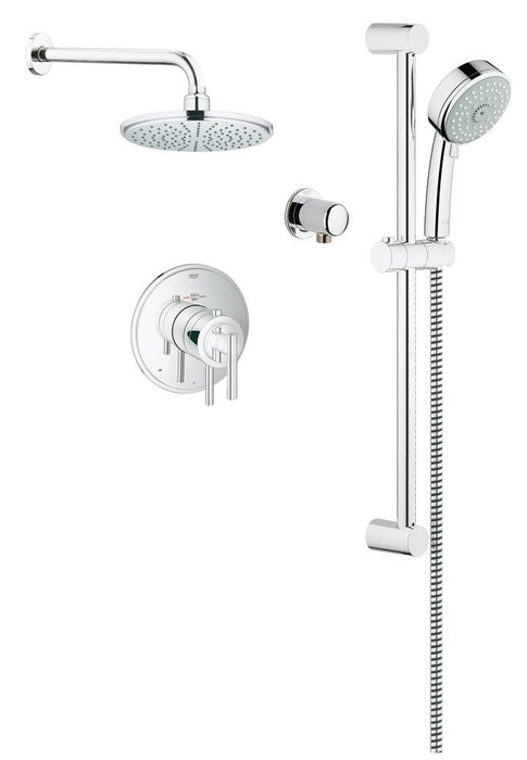 GROHE Grohtherm 1000 Timeless THM Dual Function Shower Kit