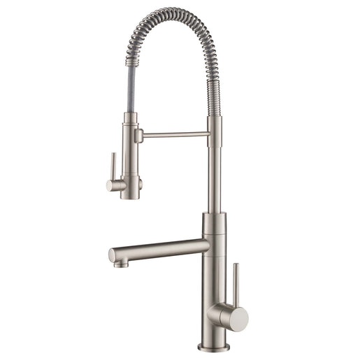 KRAUS Artec Pro Commercial Style Pre-Rinse Kitchen Faucet in Spot Free Stainless Steel