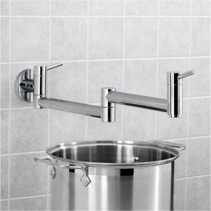 BLANCO Cantata Wall Mounted Pot Filler Faucet 400525