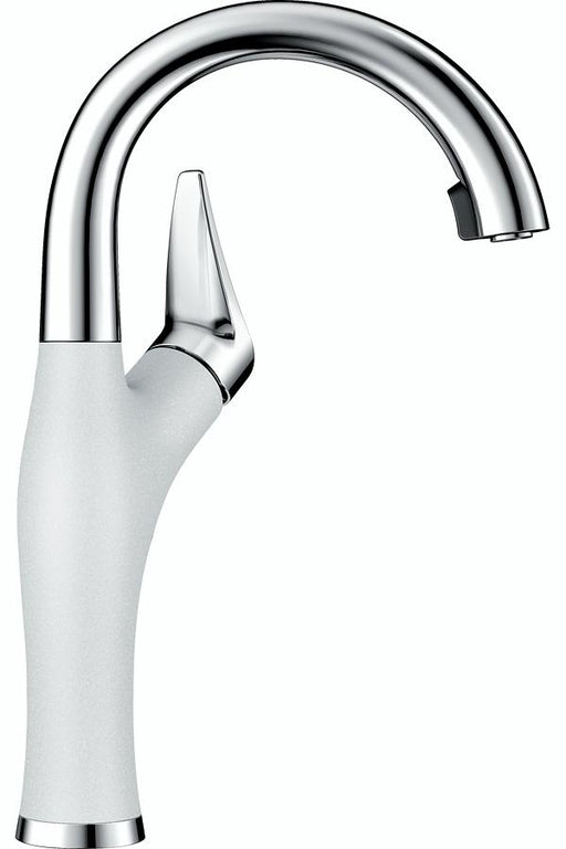 BLANCO Artona Kitchen Bar Faucet Stainless-White 442044