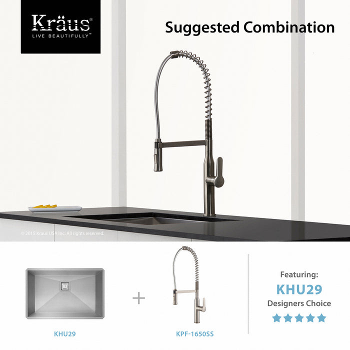 """304 Stainless Steel Kitchen Faucet Dual Functional Spouts Double Control  8/"""""""