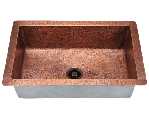 GRAND RIVER 33 INCH 16 GAUGE COPPER UNDERMOUNT SINK