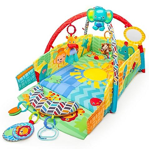 Bright Starts  Sunny Safari  Baby's Play Place  Activity Gym - toywit.myshopify.com