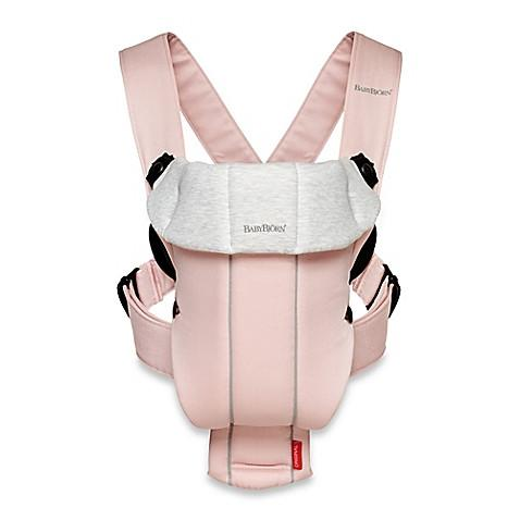 Baby Bjorn  Baby Carrier Original in Light Pink and Grey - toywit.myshopify.com