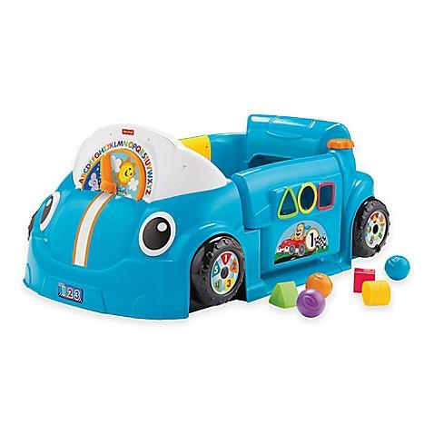 Fisher-Price Laugh Learn  Crawl Around   Car in Blue - toywit.myshopify.com