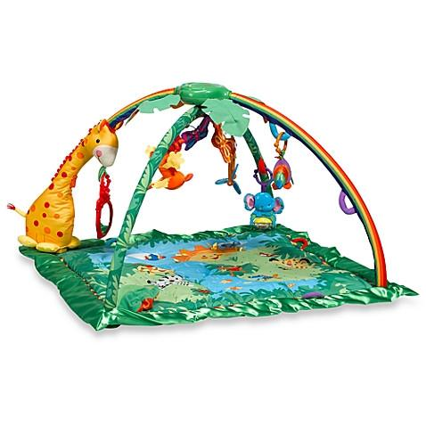 Fisher-Price Rain forest Melodies Lights Deluxe Gym - toywit.myshopify.com