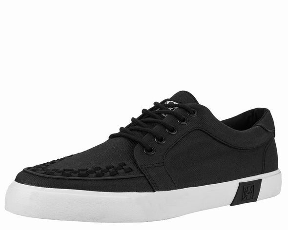 TUK-A9186 Black Waxed Twill No-Ring VLK Sneaker