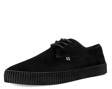 TUK-A9277 Black Suede Pointed EZC